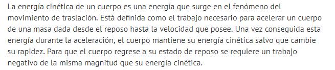 Energia cinetica de traslacion 1