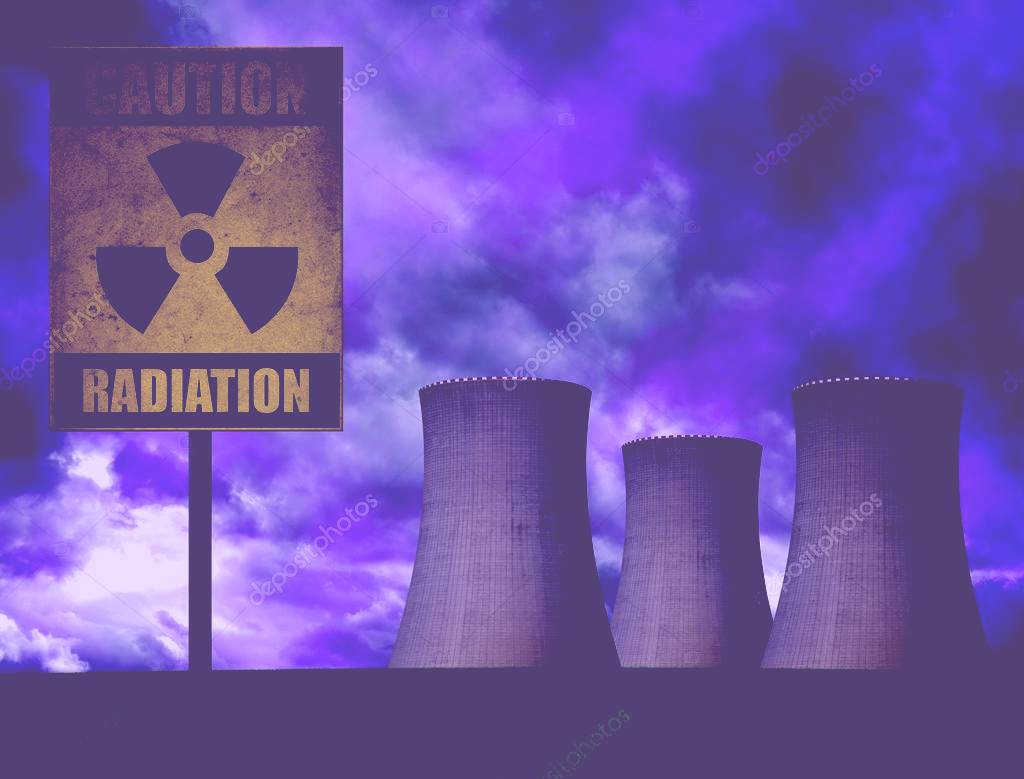 Simbolo de la energia nuclear