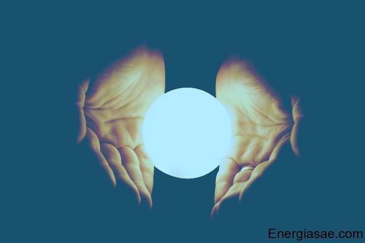 Imágenes de energía luminosa