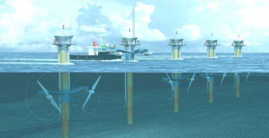 Imágenes de energía mareomotriz